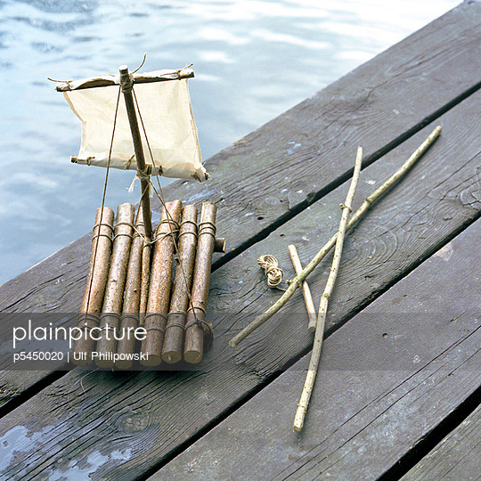 Kleines Floß - p5450020 von Ulf Philipowski