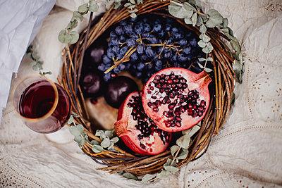 Vintage Picknick - p1414m1591091 von Dasha Pears