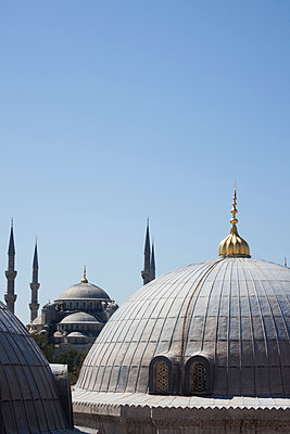 Über den Dächern Istanbuls - p045m1486594 von Jasmin Sander