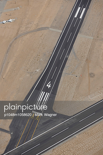 Runway intersection - p1048m1058620 by Mark Wagner