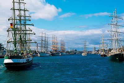 Dublin, Co Dublin, Ireland, Tall Ships Festival - p4428995 by The Irish Image Collection
