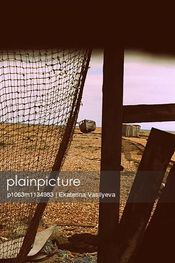 Fishing net - p1063m1134983 by Ekaterina Vasilyeva