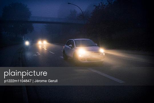 Nebel Abend - p1222m1104847 von Jérome Gerull