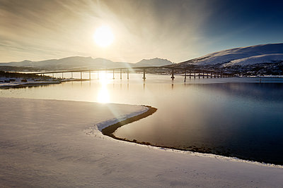 Bridge at Tromsö - p1203m1189815 by Bernd Schumacher