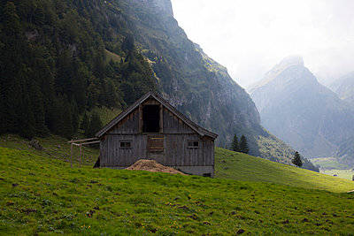 Cabin in Appenzell - p304m1050986 by R. Wolf