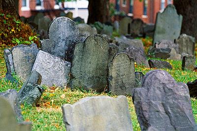 Copps Hill Burying Ground, Boston, Massachusetts, USA   - p4424679f by Design Pics