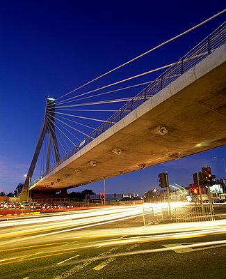 Luas Bridge at Dundrum in Dublin, Ireland - p4425010f by Design Pics