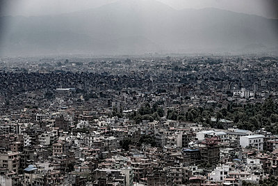 Blick über Kathmandu - p1243m1525090 von Archer