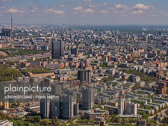 Moskau  - p390m2013445 von Frank Herfort