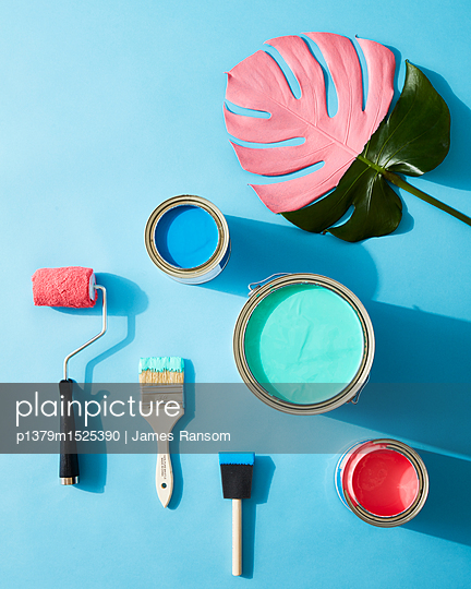 summer paint colors - p1379m1525390 by James Ransom