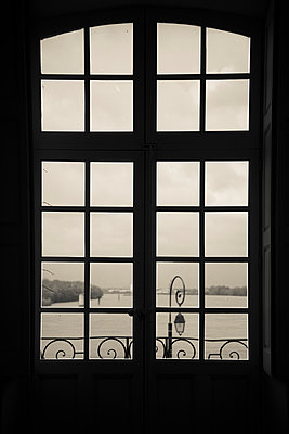 View of river from a window - p1170m967821 by Bjanka Kadic