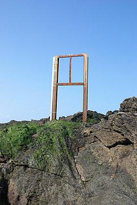 Tafel ohne Schild - p2600186 von Frank Dan Hofacker