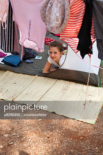 Campingurlaub - p8280492 von souslesarbres