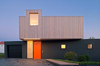 Modernes Haus - p1119m1203316 von O. Mahlstedt