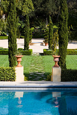 Swimming Pool and Lawn - p5550631f by LOOK Photography