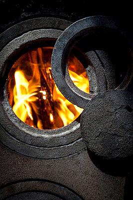 Coal-burning stove - p0750369 by Lukasz Chrobok