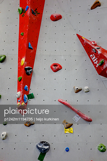 Indoor climbing wall - p1242m1194735 by teijo kurkinen