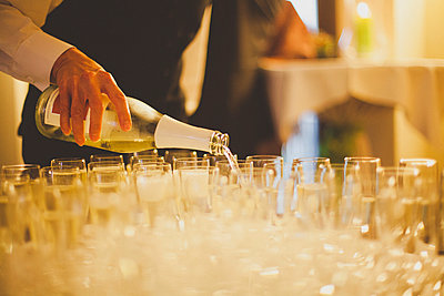 Champagne reception - p1002m918388 by christian plochacki