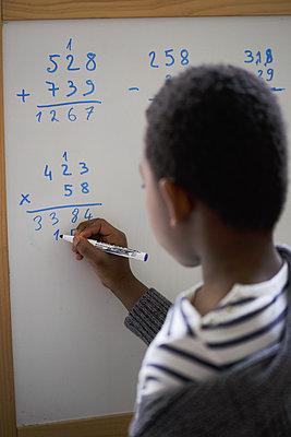 School at home - p1307m2178851 by Agnès Deschamps