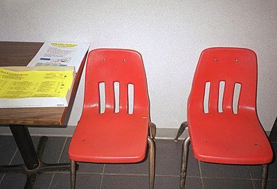 Orange chairs - p5670530 by Jesse Untracht-Oakner
