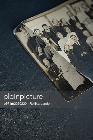 Old photograph - p971m2260220 by Reilika Landen