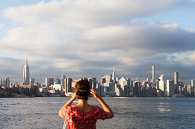 Tourist in New York City - p1095m1541070 von nika