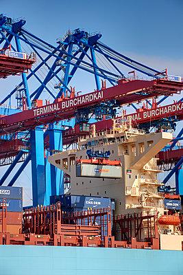 Containerterminal Hamburg - p1099m1525125 von Sabine Vielmo