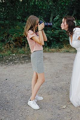Hochzeitsfotos mit Braut - p1621m2216137 von Anke Doerschlen