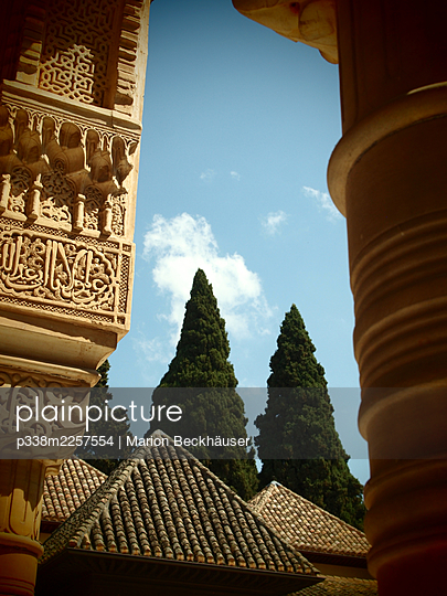 Spain, Granada, Andalusia, Alhambra - p338m2257554 by Marion Beckhäuser