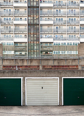 High-rise building on council estate - p388m702062 by Andre