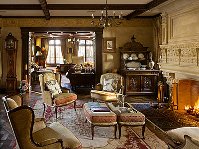 Noble living-room - p3900334 by Frank Herfort