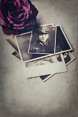 Old photos of a soldier - p946m938942 by Maren Becker