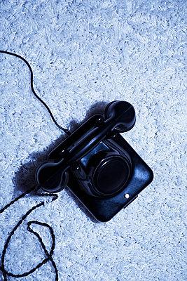 Nostalgic telephone - p1149m2028448 by Yvonne Röder