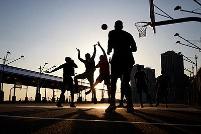 Basketballspieler - p1411m2057739 von Florent Drillon