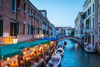 Rio del Greci, Venice, Italy - p651m2007413 by Jon Arnold