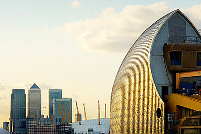 Thames barrier - p9245877f by Image Source