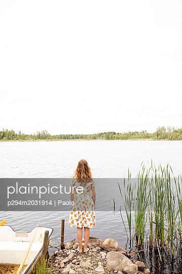 Look over the lake - p294m2031914 by Paolo