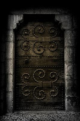 Historische Tür - p248m995615 von BY