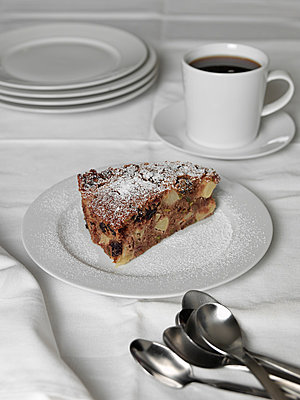 Coffee and cake - p1052m882363 by Wolfgang Ludwig