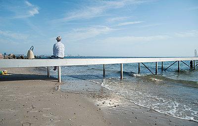 Steg am Meer - p116m2109615 von Gianna Schade