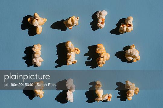 Popcorn still life - p1190m2015040 by Sarah Eick