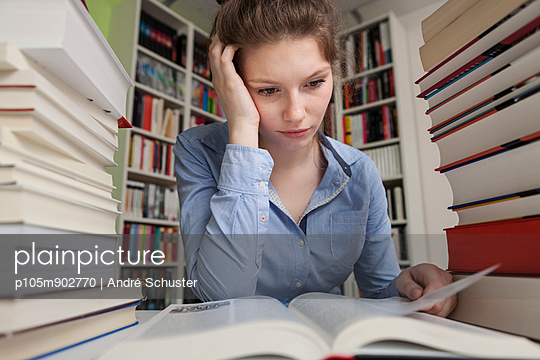 Student learning at home - p105m902770 by André Schuster