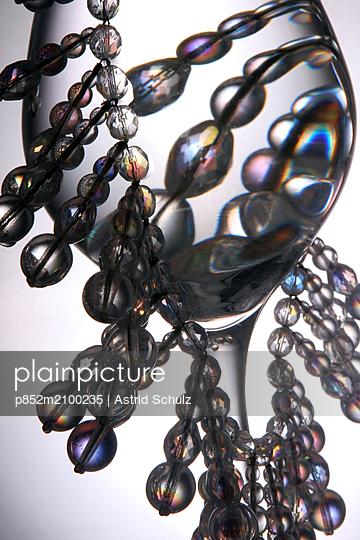Glas und Perlen - p852m2100235 von Astrid Schulz
