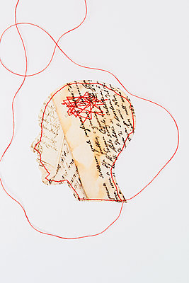 Headaches - p451m2258045 by Anja Weber-Decker