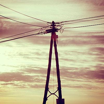 Leitung - p977m1003333 von Sandrine Pic