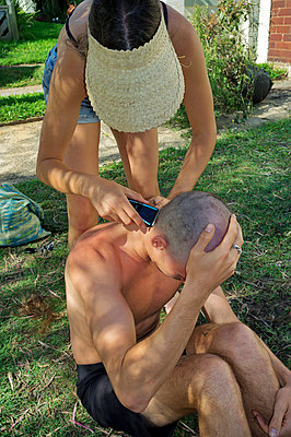 Head shaving - p1125m1582631 by jonlove