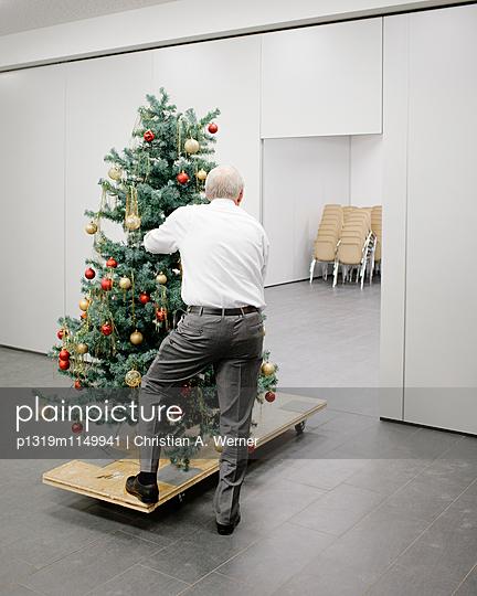 Nach der Weihnachtsfeier - p1319m1149941 von Christian A. Werner