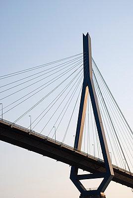 Köhlbrandbrücke Hamburg - p0750338 von Lukasz Chrobok