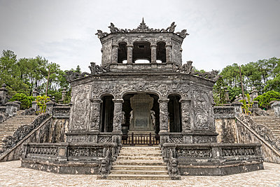 Khai Dinh mausoleum in Vietnam - p1445m2082685 by Eugenia Kyriakopoulou