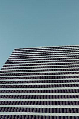 Blurred office building - p495m903918 by Jeanene Scott